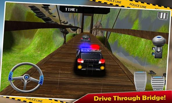 Offroad Police Jeep Chase 3D poster