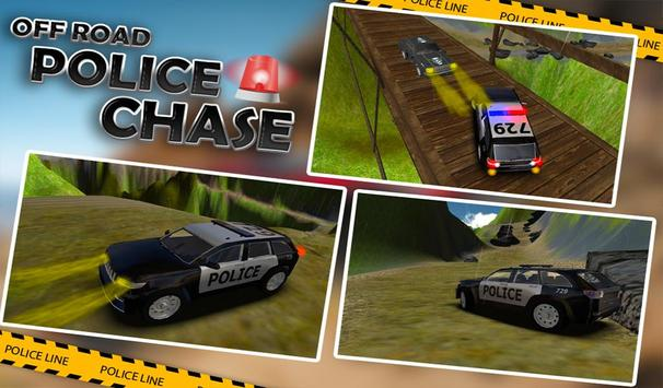 Offroad Police Jeep Chase 3D apk screenshot
