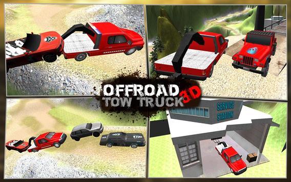 Offroad Tow Truck 3D apk screenshot