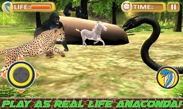 Anaconda Wild Snake Simulators apk screenshot
