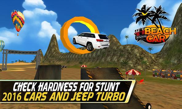 Beach Car Stunt:Hot Coast Wave poster
