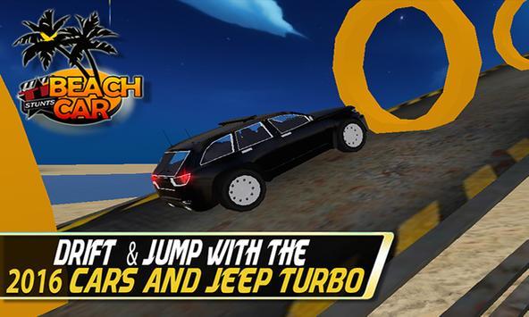 Beach Car Stunt:Hot Coast Wave apk screenshot