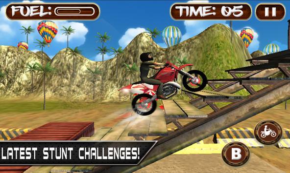 Bike Racing Rider Stunt Escape poster