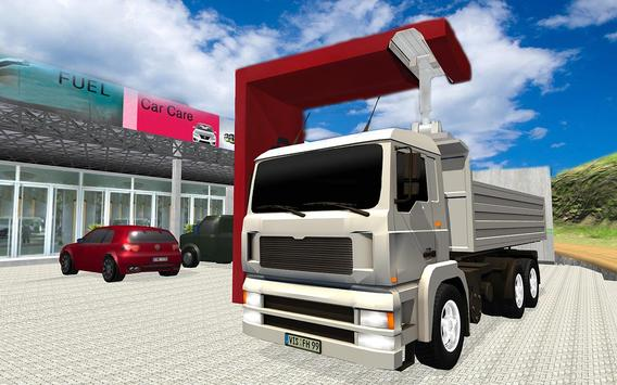 Truck Transport Raw Material apk screenshot