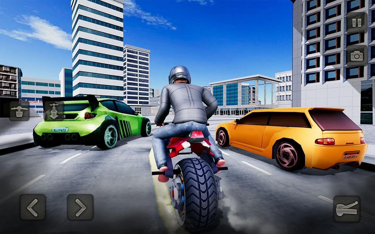 Gyroscope Bike Rider: One Wheel Motorcycle Sim for Android