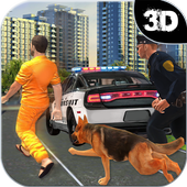 Police Dog Chase:Crazy Rush 3D icon