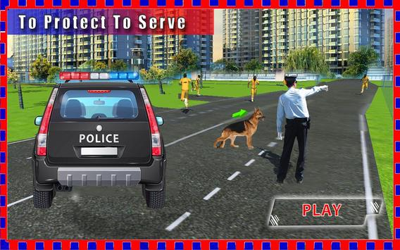 Police Dog Chase:Crazy Rush 3D apk screenshot