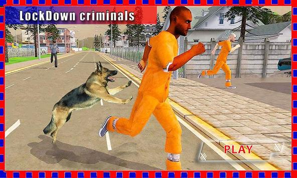 Police Dog Chase:Crazy Rush 3D poster