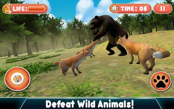 Real Fox Simulator 3D apk screenshot