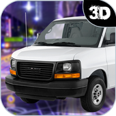 Sharp Cargo Van Simulator 3D icon