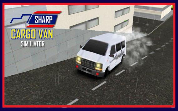 Sharp Cargo Van Simulator 3D apk screenshot