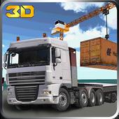 Transporter Truck Simulator 3D icon