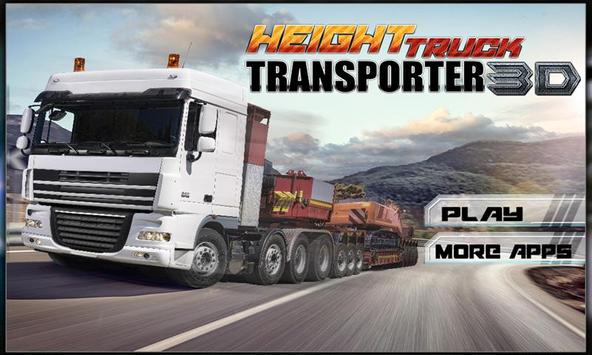 Transporter Truck Simulator 3D poster