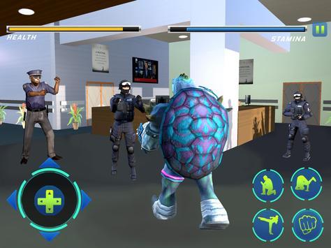Prison Escape Super Turtle ( super hero hospital ) screenshot 8
