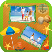Collage HD Frames For Summer icon