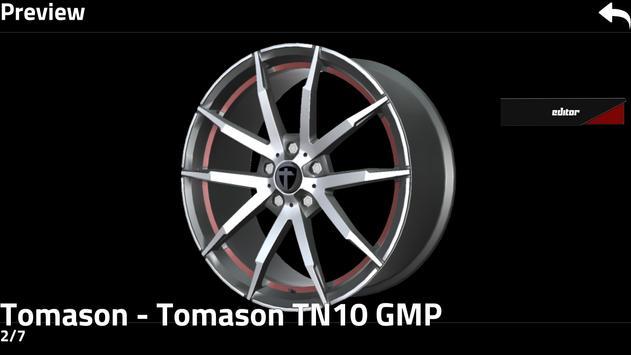 Tomason 4D Wheeleditor apk screenshot