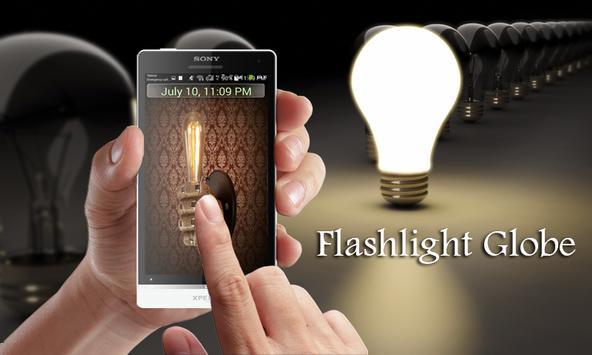 Flashlight : Globe poster