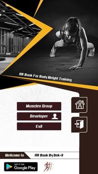 AR Book For Body Weight Training ( DEMO ) poster