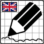 Draw Quiz English icon