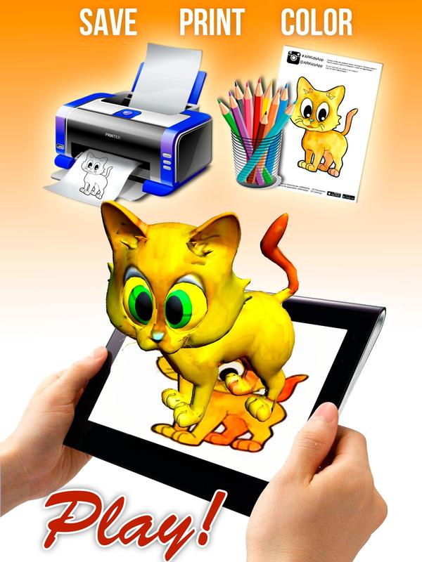 Free 3d coloring book app APK Download - Free Entertainment APP for ...