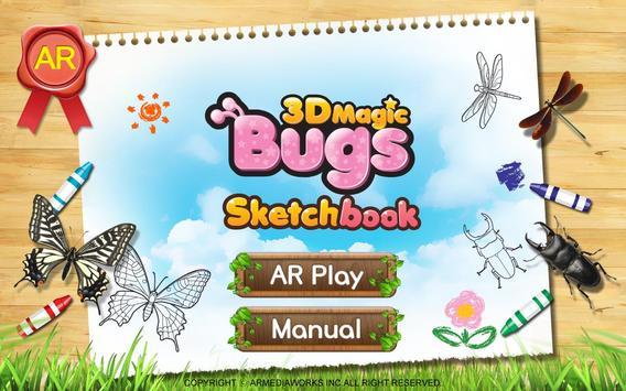 3D Magic Bugs(Sketchbook) ảnh chụp màn hình 1