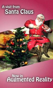 A visit from santa claus AR poster