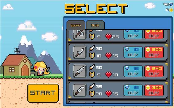 Pixel Survive screenshot 1
