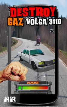 Destroy GAZ VOLGA 3110 poster