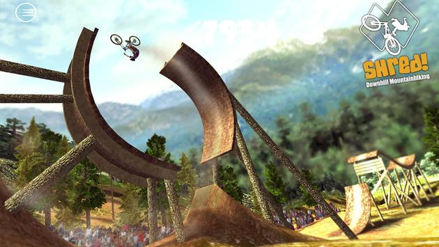 Shred! Downhill Mountainbiking تصوير الشاشة 10