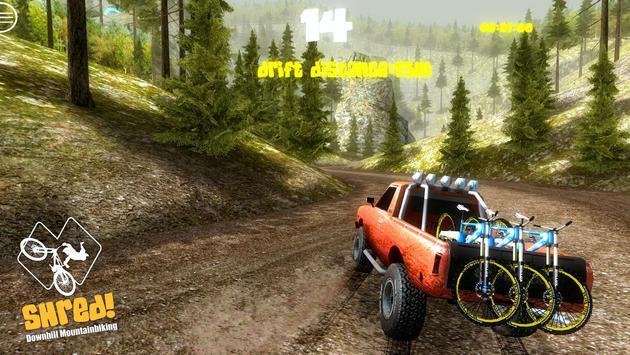 Shred! Downhill Mountainbiking تصوير الشاشة 21