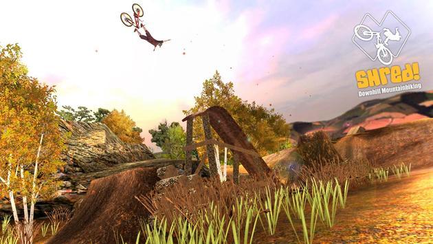 Shred! Downhill Mountainbiking تصوير الشاشة 8
