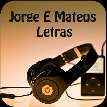 Jorge E Mateus Letras poster