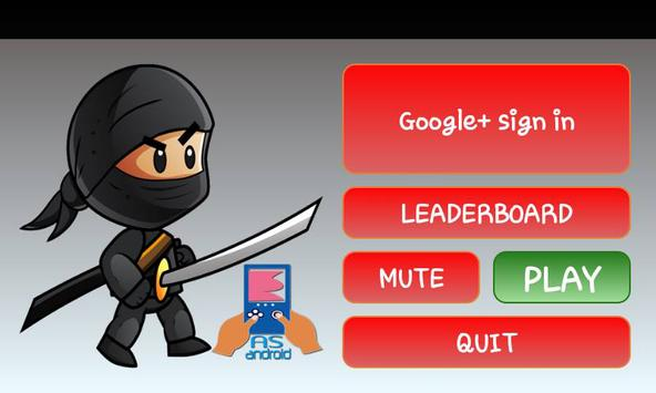 Running Ninja gama poster