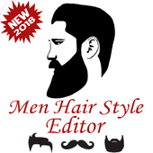 Men Hair Style Editor icon