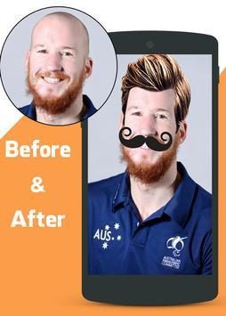 Men Hair Style Editor poster