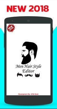 Men Hair Style Editor screenshot 2
