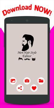 Men Hair Style Editor screenshot 3