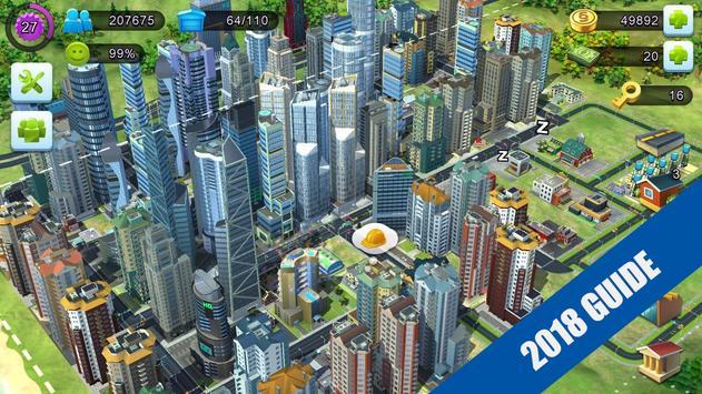 GUIDE SimCity BuildIt 2018 FREE TIPS screenshot 6
