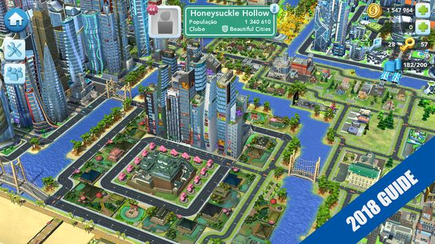 GUIDE SimCity BuildIt 2018 FREE TIPS poster