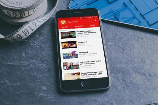 Easy Vd Hd Video Downloader HD apk screenshot