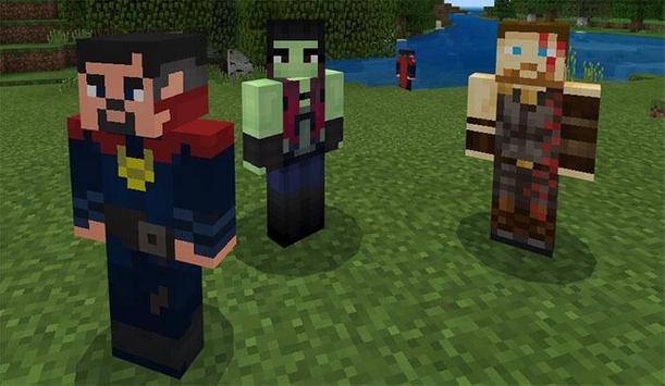 MOD Avengers Infinity War Addon MCPE screenshot 8