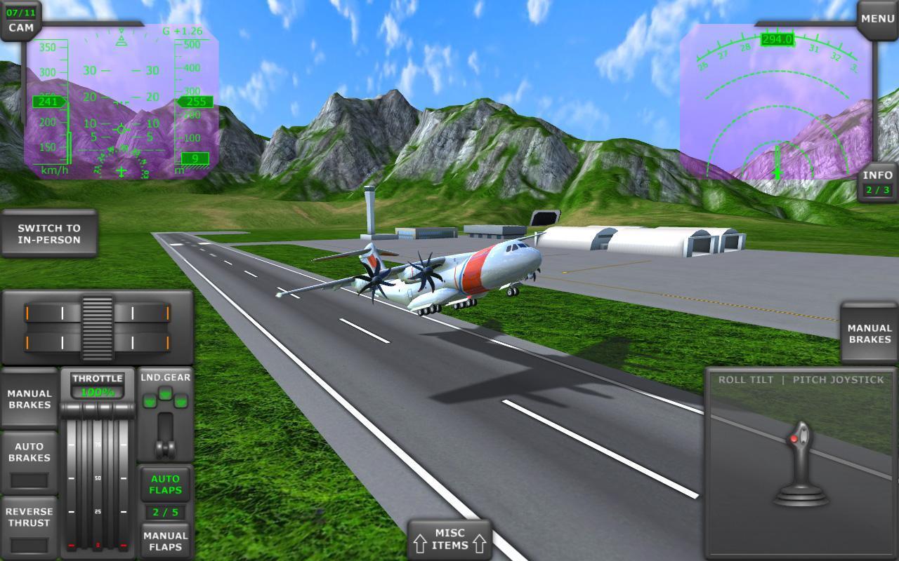 Turboprop flight simulator 3d apk download free for Simulatore 3d