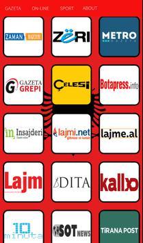Gazetat Shqiptare apk screenshot