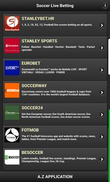 Soccer Live Betting screenshot 4