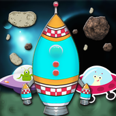 Rocket Shooter In Galaxy-Space icon