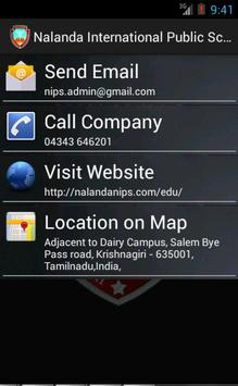 Nalanda International School apk screenshot