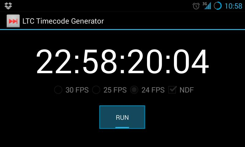 LTC Timecode Generator Free for Android - APK Download