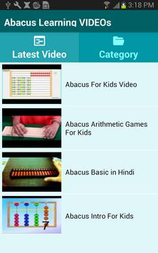 Abacus Learning VIDEOs screenshot 1