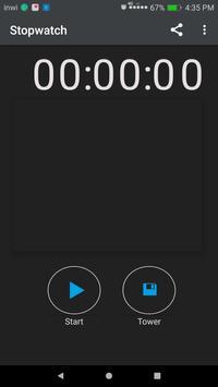 Stopwatch Lite apk screenshot