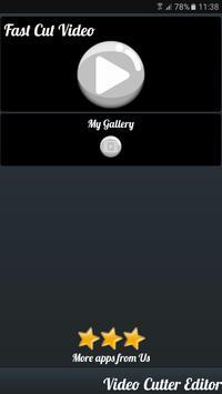 Video cutter Pro apk screenshot